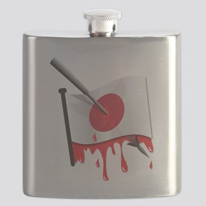 Japanese flag harpoon Flask