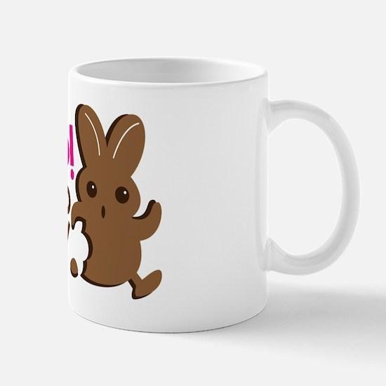 HELP I'm too yummy! Chocolate bunny rab Mug