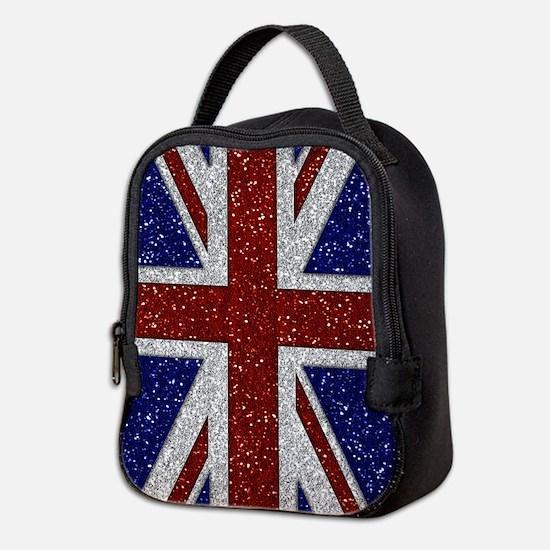 Glitters Shiny Spar... Neoprene Lunch Bag