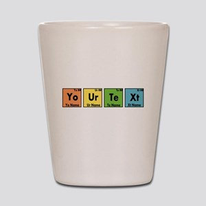 Personalized Your Text Periodic Table N Shot Glass