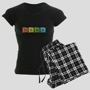Personalized Your Text Perio Women's Dark Pajamas