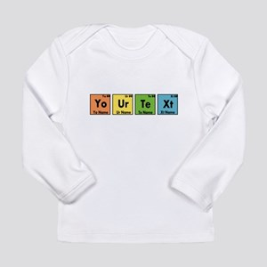 Personalized Your Text Long Sleeve Infant T-Shirt