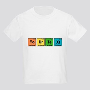 Personalized Your Text Periodic Kids Light T-Shirt