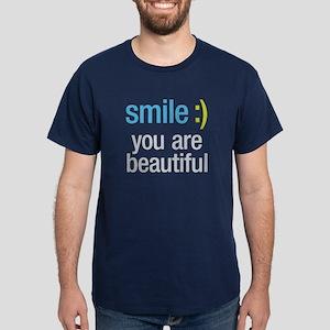 Smile Beautiful Dark T-Shirt
