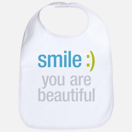 Smile Beautiful Bib