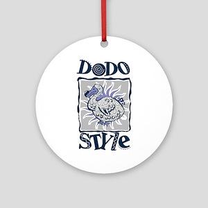 Dodo style Ornament (Round)