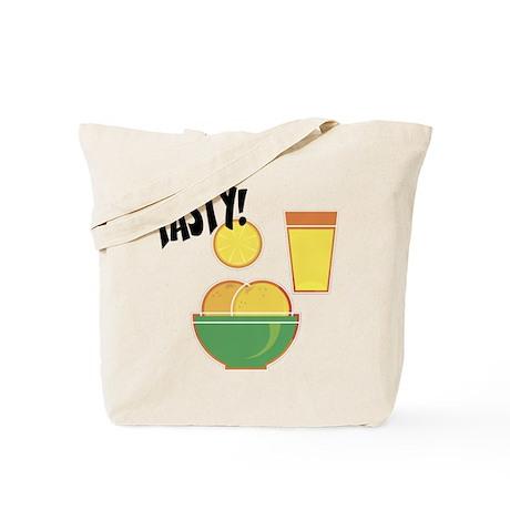 Tasty Oranges Tote Bag