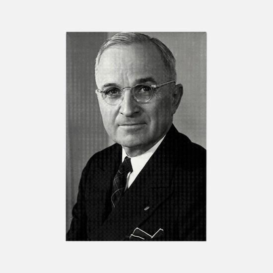 Harry Truman Rectangle Magnet