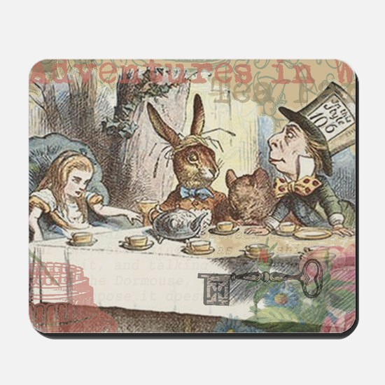 Mad Tea Party Mousepad