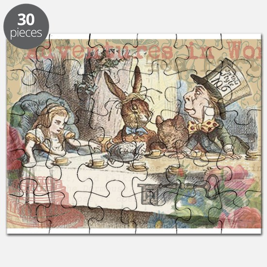 Mad Tea Party Puzzle