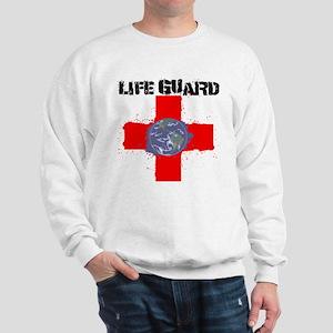 Life Guard Earth Sweatshirt