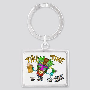 Tike Time is all the Time Landscape Keychain