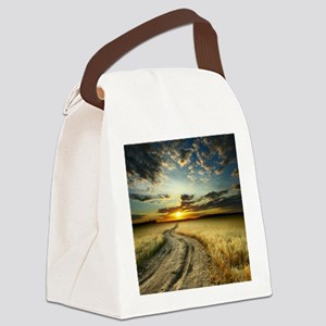Western Road Canvas Lunch Bag