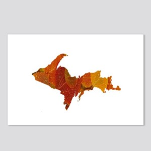 Autumn Leaves U.P. Postcards (Package of 8)