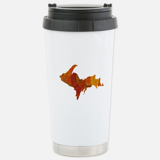 Autumn Leaves U.P. Stainless Steel Travel Mug