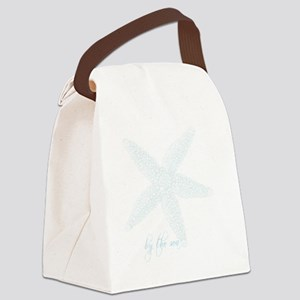 By the Sea Starfish Canvas Lunch Bag