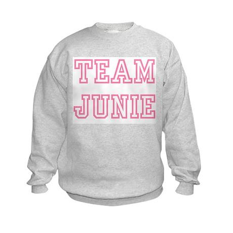 Team JUNIE Kids Sweatshirt
