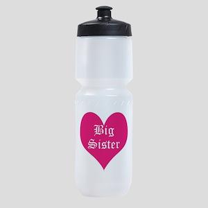 Big Sister, heart, Sports Bottle