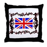 your picture goes here Throw Pillow