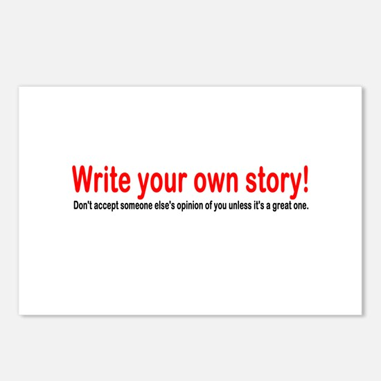 Write Your Own Story Postcards (Package of 8)