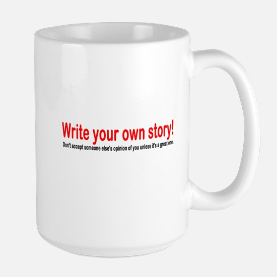 Write Your Own Story Mugs