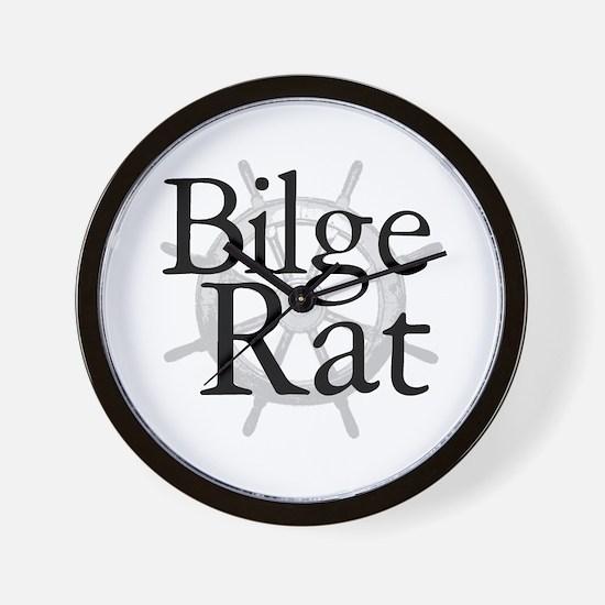 Bilge Rat Pirate Caribbean Wall Clock