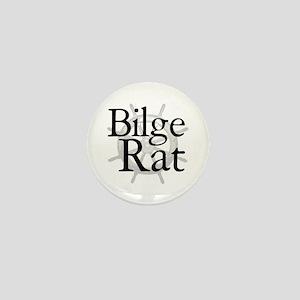 Bilge Rat Pirate Caribbean Mini Button