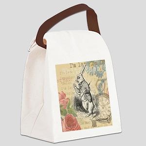White Rabbit from Alice in Wonderland Canvas Lunch