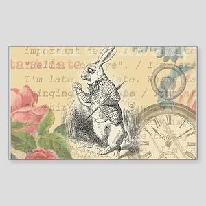 White Rabbit from Alice in Wonderland Sticker