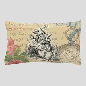 White Rabbit from Alice in Wonderland Pillow Case