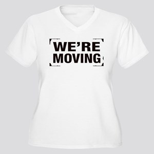 Were Moving Plus Size T-Shirt