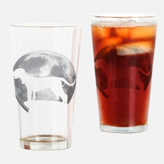 Cute Catahoula leopard dog Drinking Glass