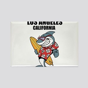 Los Angeles California Rectangle Magnet