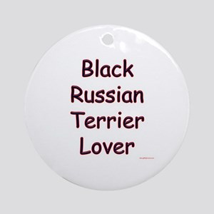 Russian Terrier Lover Ornament (Round)