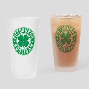 Pittsburgh Hooligan Drinking Glass