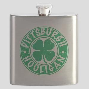 Pittsburgh Hooligan Flask