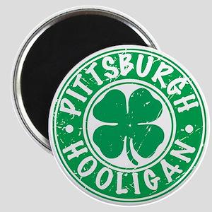 Pittsburgh Hooligan Magnet