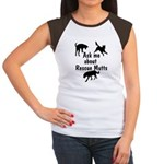 Ask About Rescue Mutts Women's Cap Sleeve T-Shirt