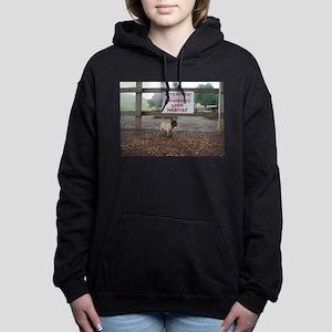 Braw Cairn Terrier Hooded Sweatshirt