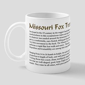 Missouri Fox Trotter Breed Description Mug