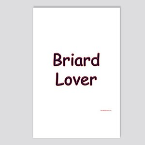 Briard Lover Postcards (Package of 8)