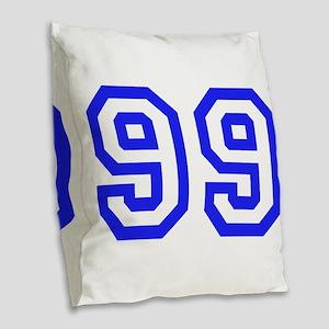 #99 Burlap Throw Pillow