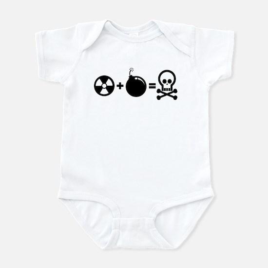 Nuclear Plus Bombs Infant Bodysuit