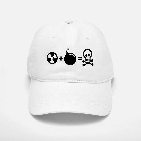 Nuclear Plus Bombs Baseball Baseball Cap