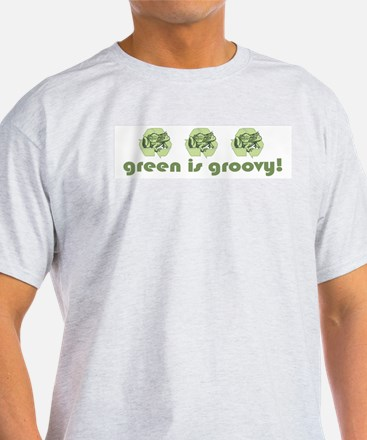 Green is Groovy frog T-Shirt