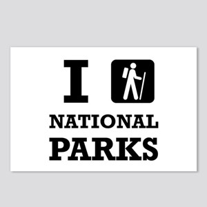 Hike National Parks Postcards (Package of 8)
