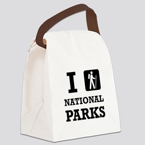 Hike National Parks Canvas Lunch Bag