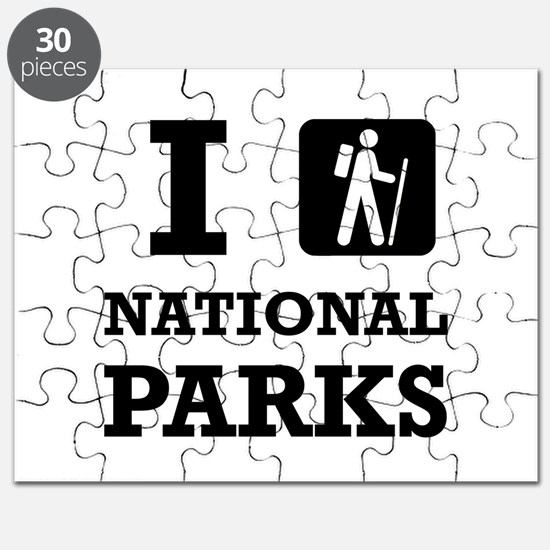 Hike National Parks Puzzle