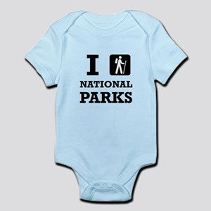Hike National Parks Body Suit