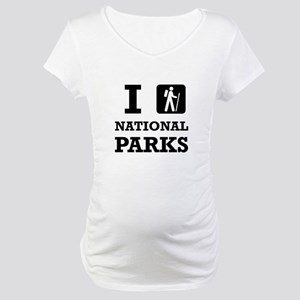 Hike National Parks Maternity T-Shirt